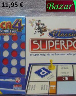 Superpoli + 4 en rayas