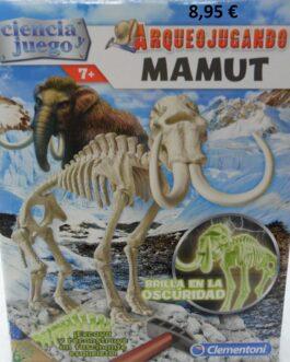 Arqueojugando Mamut