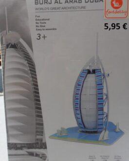 El gran mundo de la arquitectura. Puzzle 3D