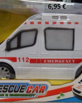 Ambulancia City Rescue Car