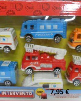 Coches y camiones de salvamento