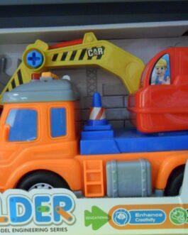 Camión Builder escavadora
