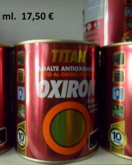 Esmalte Antoixidante