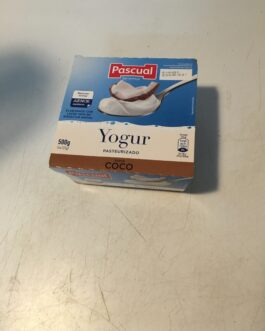 Yogur de coco