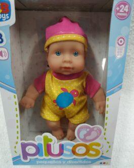 Bebé Pitusos 3 sonidos