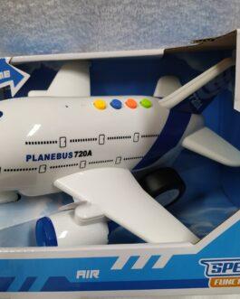 Avión con luz y sonido