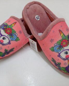 Zapatillas de niña rosa claro