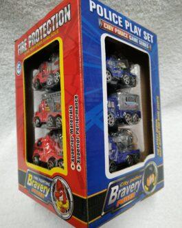 Caja con 12 coches
