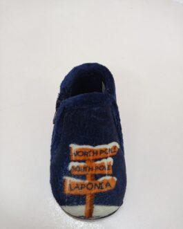 Zapatillas niño azul marino