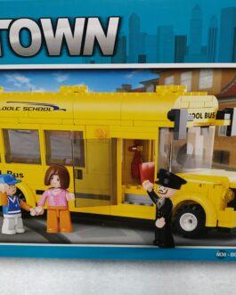 Autobús escolar 219 piezas