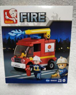 Juego de bomberos 75 piezas