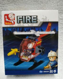 Juego de bomberos 80 piezas