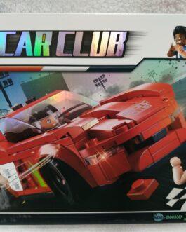 Juego 163 piezas Car club