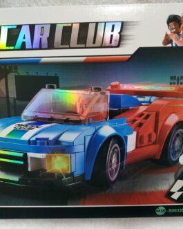 Juego 164 piezas Car club