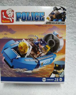 Juego policía 74 piezas