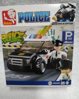 Juego policía 88 piezas