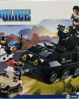 Juego policía 324 piezas