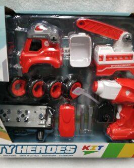 Camión de bomberos desmontable
