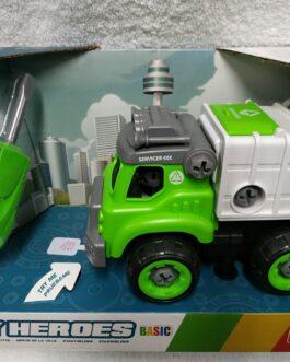 Camión de basura desmontable