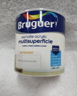 Esmalte acrílico blanco de 0,250 l.