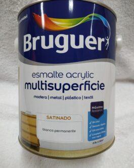 Esmalte acrílico blanco de 2,5 l.