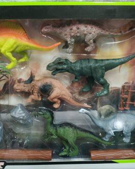 Caja de dinosaurios