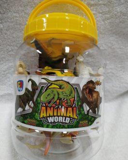 Bote 8 dinosaurios